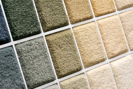 Referenz Teppichboden verlegen 3 - Auswahl von Teppichböden in diversen Qualitäten und Farben